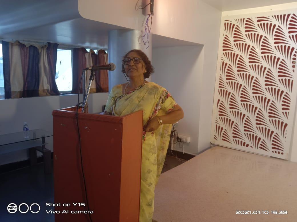 सुजाण पालकत्व – सौ. संध्या जोशी – रविवारी 10/1/2021